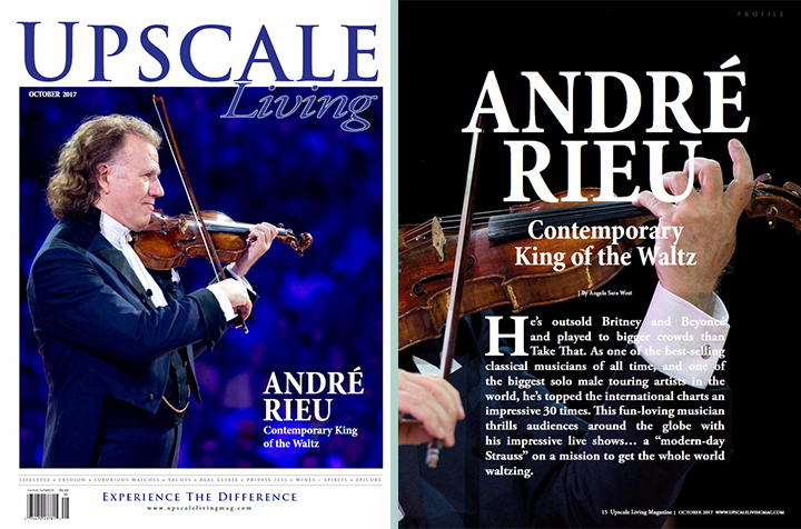 Andre Rieu - Upscale Living - Oct 2017