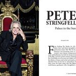Interview with Peter Stringfellow in Upscale Living magazine