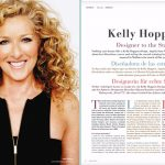 Interview with Kelly Hoppen in abcMallorca magazine