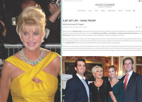 Lady Trump - A jet set life