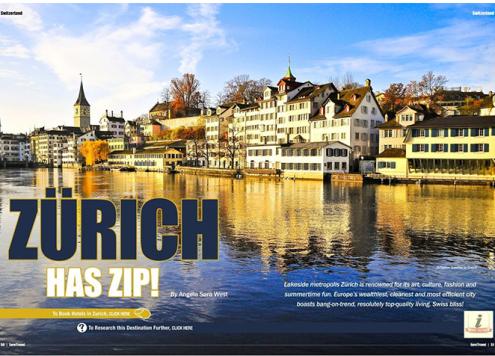 Zurich has Zip