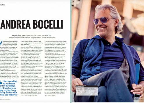 Andrea Bocelli- The Business Travel Mag - Nov 2017