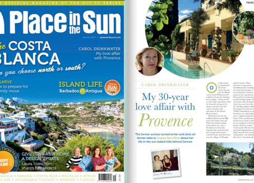 Carol Drinkwater - A Place in teh Sun - Autumn 2017