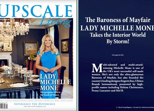 Lady Michelle Mone - Upscale Living - Sept 2017