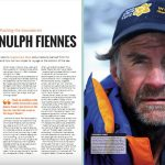 Interview with Sir Ranulph Fiennes in Business Travel Magazine