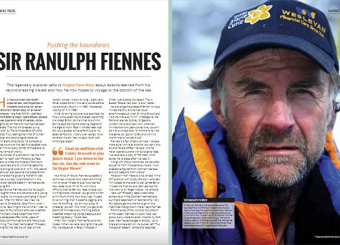 Ranulph Fiennes - BMI Publishing