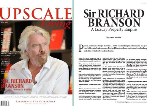 Richard Branson Upscale Living