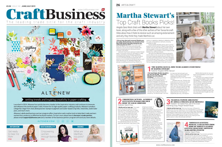 Martha Stewart – Craft Business